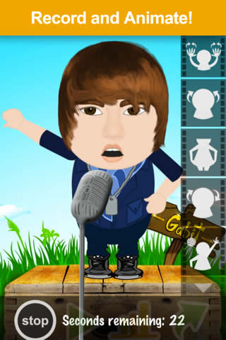 Gabit - Talking Cartoon Creator Free - iPhone iPad Free Social Networking App  | Daily free Apps